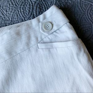 The Limited Pants - The Limited Light Gray/White Dress Pants, Size 10